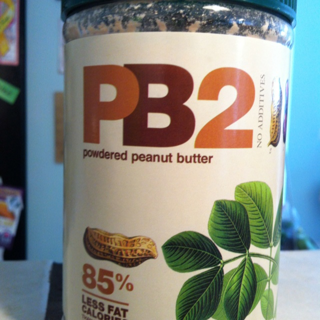 Powdered peanut butter, I want to try this...