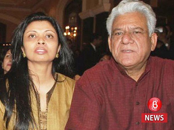 "Om Puri's wife Nandita Puri calls his ghost video ""rubbish"" and Pakistani news anchor a ""joker"""