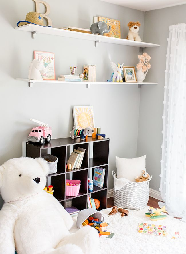 Gender Neutral Playroom Makeover with BEHR Paint