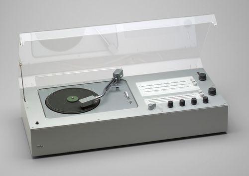 TC 40 Audio 1 Radio-Phonograph, Designed by Dieter Rams, 1962
