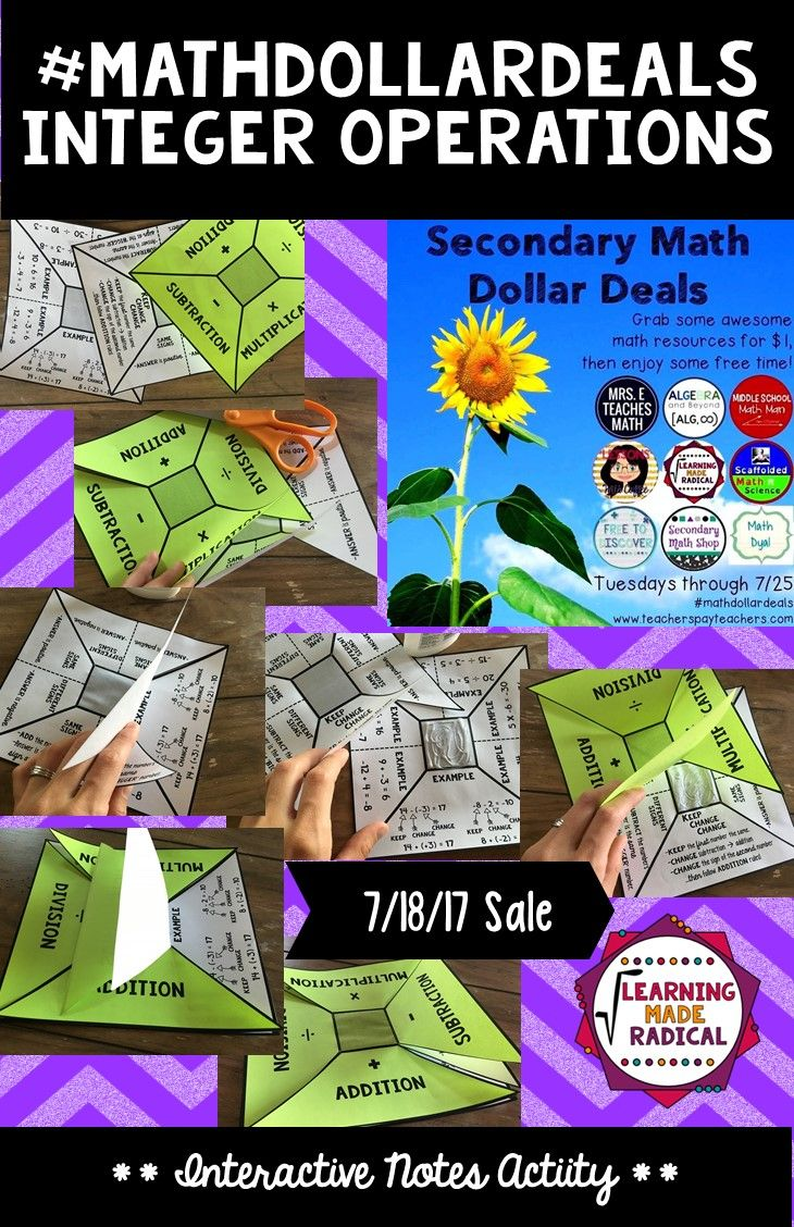 This resource is marked down to $1 through 7/18!!