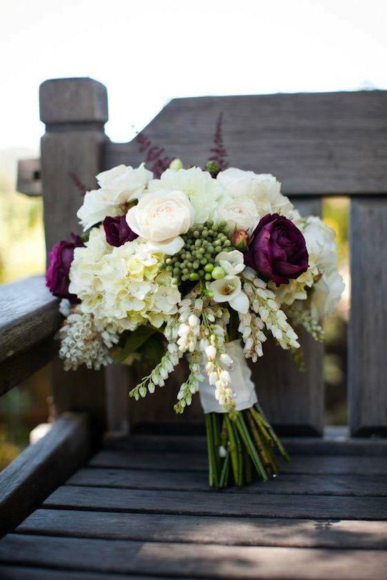 A gorgeous rustic wedding bouquet - My wedding ideas