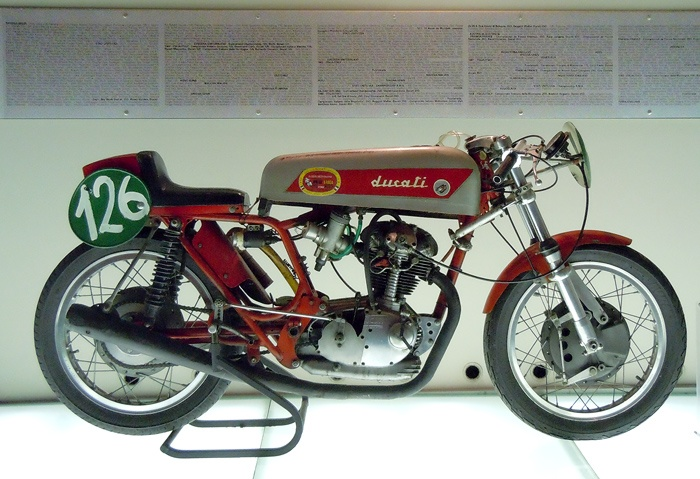 Ducati Desmo 250cc Single racer from 1966