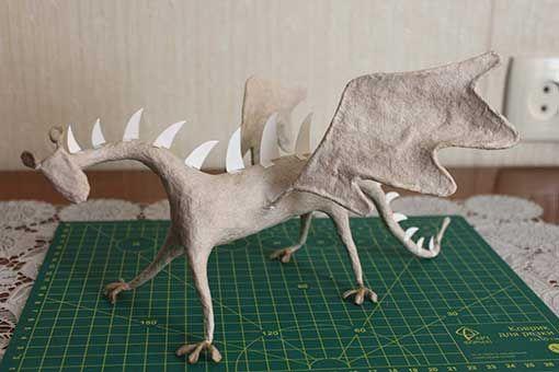 Tutorial alebrije dragon                                                                                                                                                     Más