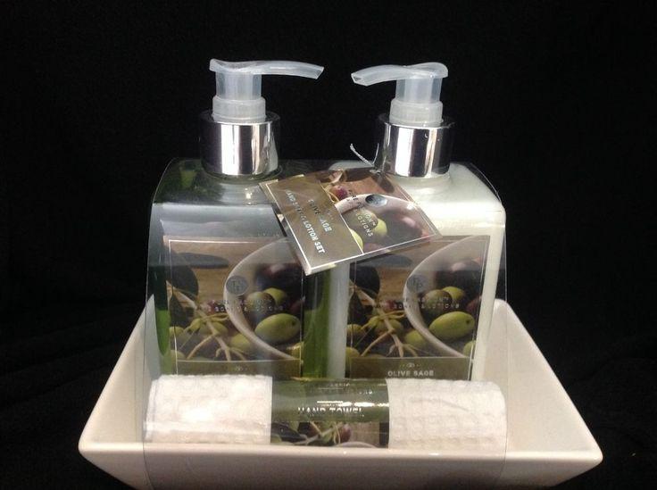 Pure Passion Fine Soap Amp Lotion Olive Sage Set Olives