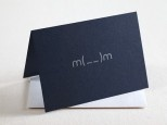 Our new letterpress card!