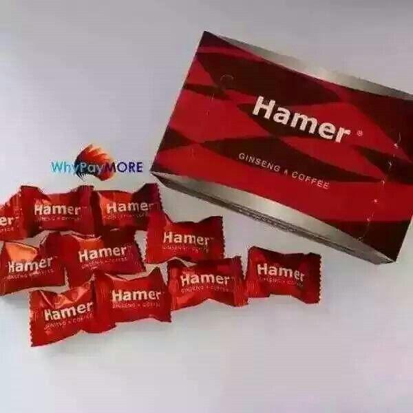 Hamer ginseng coffee candy 30 pcs rm198