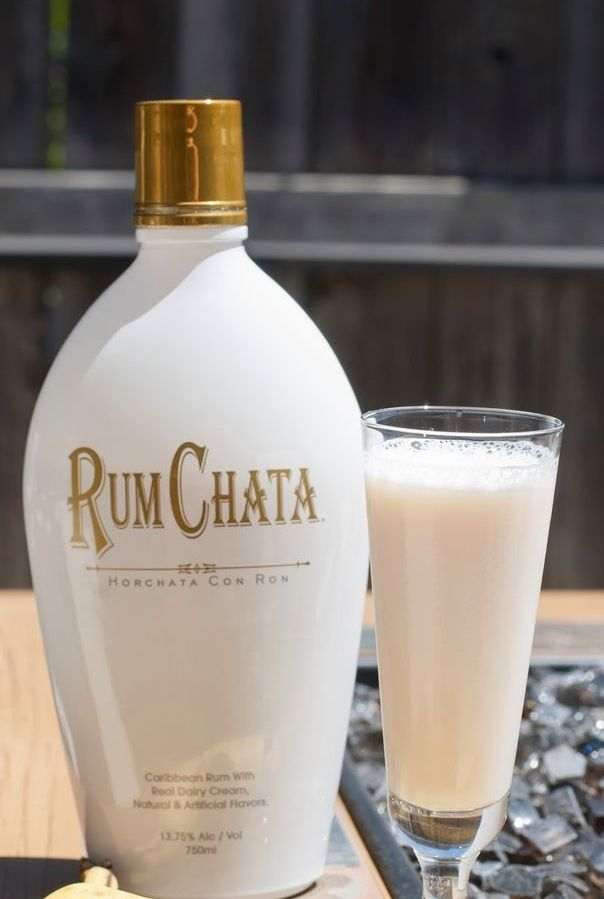 Buttered Monkey: Rum Chata, vanilla vodka, banana liqueur, butterscotch schnapps