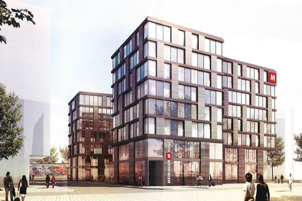 New MEININGER hotel planned for Berlin's East Side Gallery