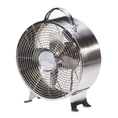 Awesome Retro Metal Fan   Stainless   Decorative Table Fans And Portable Fans In  Many Unique Styles. These Oscillating Table Top Fans Are Perfect For Your  Desk Or ...