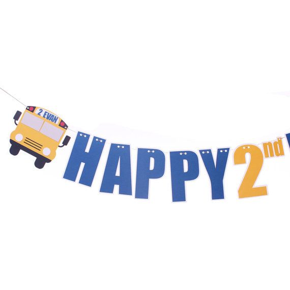 Hey, I found this really awesome Etsy listing at https://www.etsy.com/listing/216668003/bus-birthday-banner-wheels-on-the-bus
