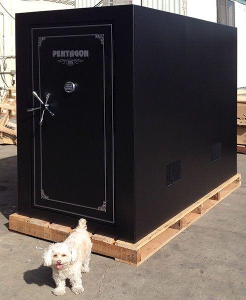 8 best tornado door images on pinterest gun storage for Custom safe rooms