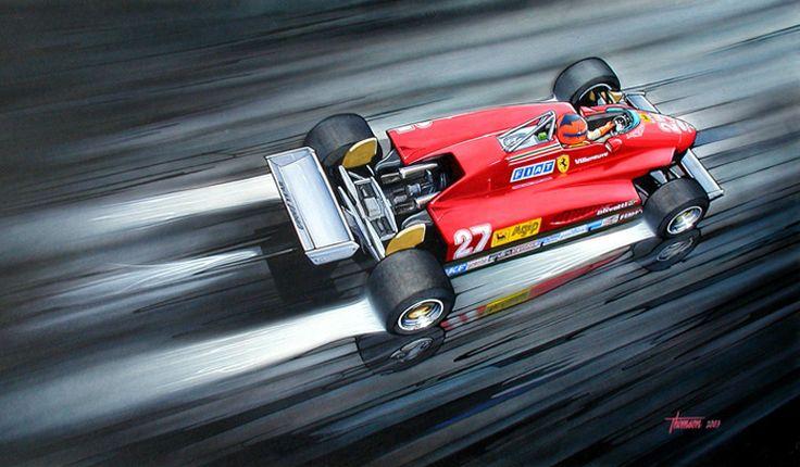thomsonstudio_painting_Gilles_Villeneuve_Ferrari_126C.jpg (740×433)