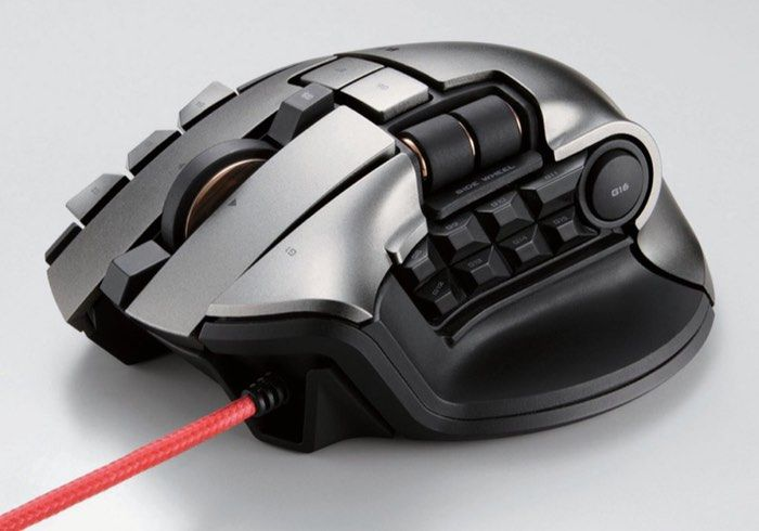 Dux MMO Gaming Mouse For MMORPG Gamers Offers 19 Buttons And Two Scroll Wheels - A new gaming mouse designed for MMORPG gamers has been unveiled this week by Elecom that comes equipped with 19 buttons and to scroll wheels all of which can be programmed to create in-game shortcuts. | Geeky Gadgets