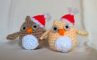 Maetel's crochet: Gufetti natalizi