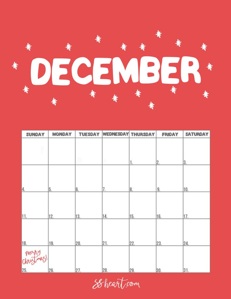 The 25+ best Printable december calendar ideas on ...