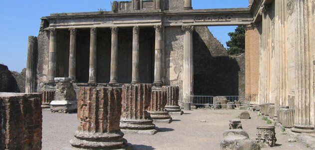 From The Smithsonian's List of 28 Places to Visit Before You Die: POMPEII, ITALY  Pompeii's history reads like a  Greek tragedy. Settlers flocked to the site of the Roman port city because of its fertile soil—the product of volcanic ash from nearby Mount Vesuvius. Yet that very same volcano would erupt and doom the city of 10,000 to 20,000 inhabitants in A.D.79. Visitors  can tour homes such as the House of the Vettii—a residence of wealthy merchants, with walls  adorned with frescos.