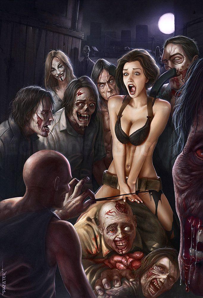 Naked woman receiving enema