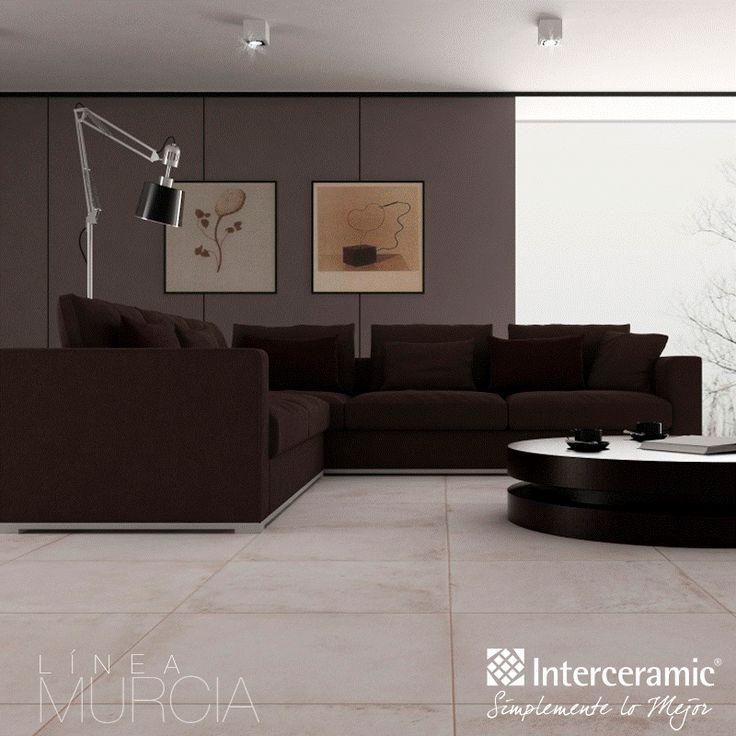 Para las salas grandes rectangulares como la de la l nea for Interceramic pisos