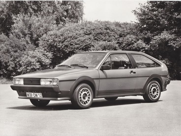 Volkswagen Scirocco GTX (1985)