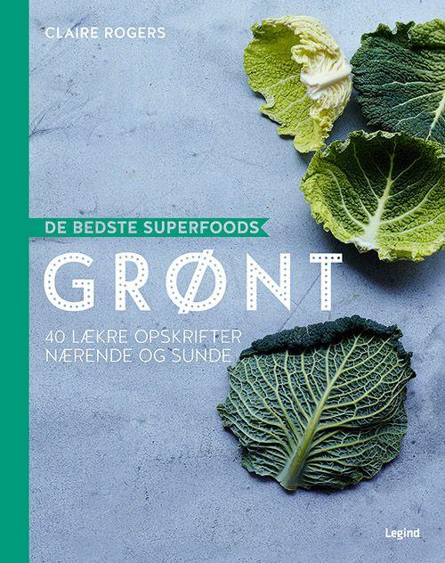 De bedste Superfoods - de grønne grønsager er ren superfood. spækket med vitaminer og andre gavnlige stoffer. denne bog giver dig altså både god ernæring, sundhed og velsmag. Få nye ideer til, hvad du gør med dine grønsager. Bønner, ærter, broccoli, kål, rucola og andre salater, bladbeder, brøndkarse og spinat samt – ikke at forglemme – den go'e gamle og supersunde grønkål.