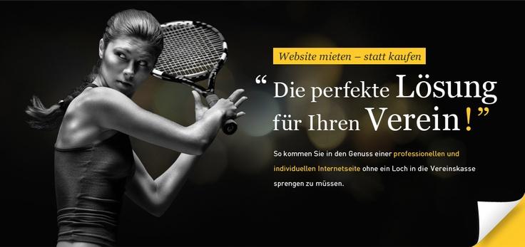 Webdesign für Tennis Vereine von Albrecht & Stöter Werbeagentur. Website mieten – statt kaufen | http://albrecht-stoeter.de/aktion/website-tennisvereine