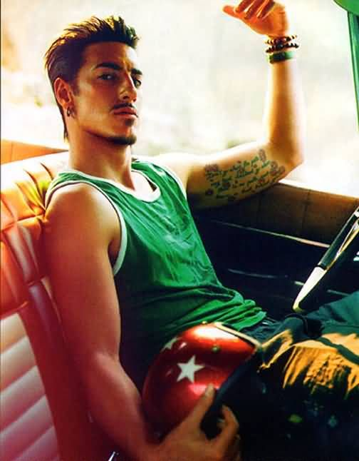 Eric Balfour otherwise known as Duke from Haven