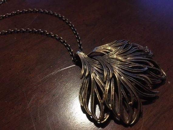 Jorma Valo Bronze Necklace  Large Solid Bronze  Vintage
