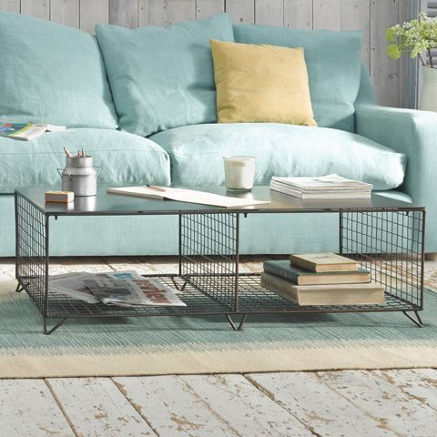 """SMITHERS MAJOR. There's no messing with this hard-as-nails coffee table. Known at Loaf HQ simply as """"The Major"""", he commands respect. End of. #BonjourBlighty #coffeetable #metal #industrial"""