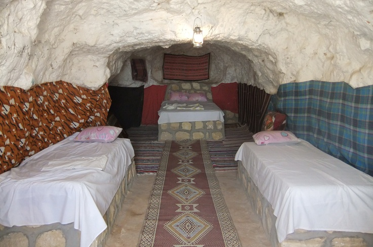 My bedroom in a Berber mountainvillage in North Africa, while searching for Kilim-rugs for my shop.