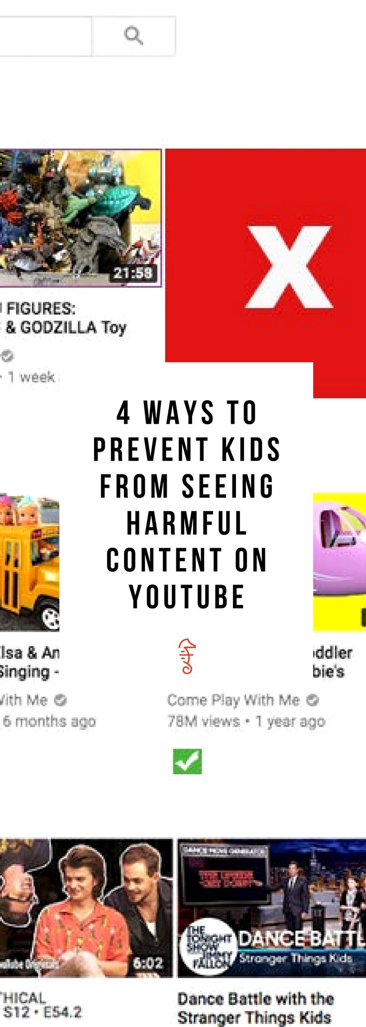 Parenting advice on YouTube kids safety, especially around parental controls!