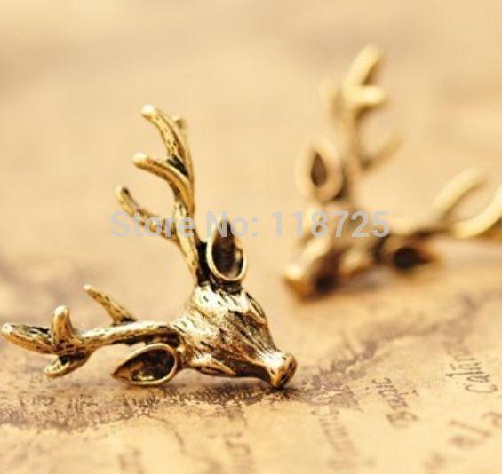 Купить товарLz E433 2016 новинка ретро бронзовый рога оленя серьги для женщин в категории Серьги-гвоздикина AliExpress. 4PCS Vintage Punk Ring Set Unique Carved Antique Plated Silver Elephant Totem Leaf Lucky Rings for Women Boho Beach Jewe
