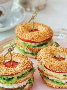 Simit sandviç Tarifi - Hamur İşleri Yemekleri - Yemek Tarifleri