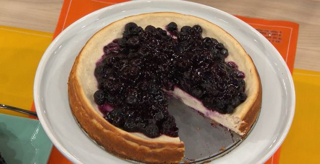 Jessie Pavelka's Healthy Low-Fat cheesecake