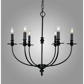 Westmore Lighting 6-Light Hartford Oil Rubbed Chandelier