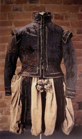 Clothing of Svante Stures murdered in 1567 is now located in © Museum Uppsala, Sweden