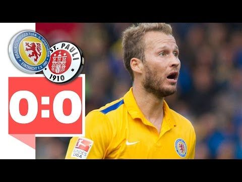 2. Bundesliga Eintracht Braunschweig - FC St. Pauli – 0:0 – Gikiewicz rettet Punkt gegen St. Pauli!
