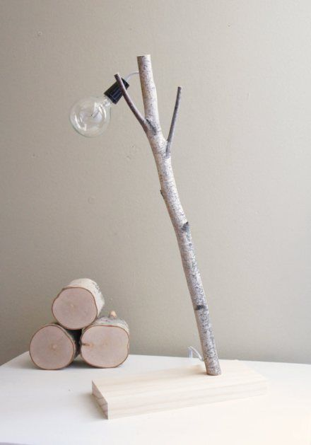 Geppetto sindrome, nice diy ideas to make with branches and small trunks of wood, lighting, candle holders. Keep busy in cold days.