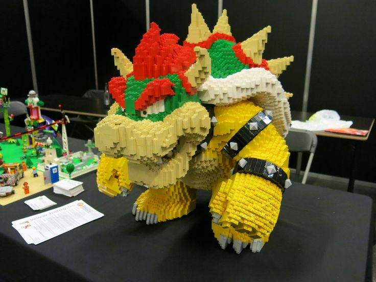 Giant Lego Bowser But Who Can Help Me Build One