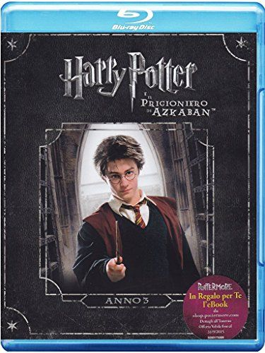 harry potter e il prigioniero di azkaban (blu-raye-book) blu_ray Italian Import @ niftywarehouse.com #NiftyWarehouse #HarryPotter #Wizards #Books #Movies #Sorcerer #Wizard
