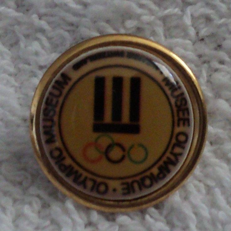 Olympic Museum Pin Pinback LadyWe