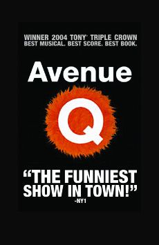 avenue q musical paper Those profane puppets of avenue q are in a locally produced musical at  essay  this lively, accessible and still-lovable show, the last musical.
