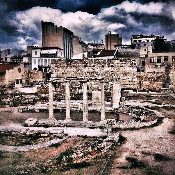 Βιβλιοθήκη Αδριανού (Hadrian's Library) in Αθήνα, Αττική