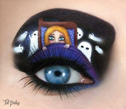 Utiliza sus ojos como lienzo para crear su increíble arte. Tal Peleg es una amante de la ilustración, la fotografía y el maquillaje. Es por esto que esta artista decidió mostrar al mundo esa increíble mezcla con las pasiones más arraigadas en su...