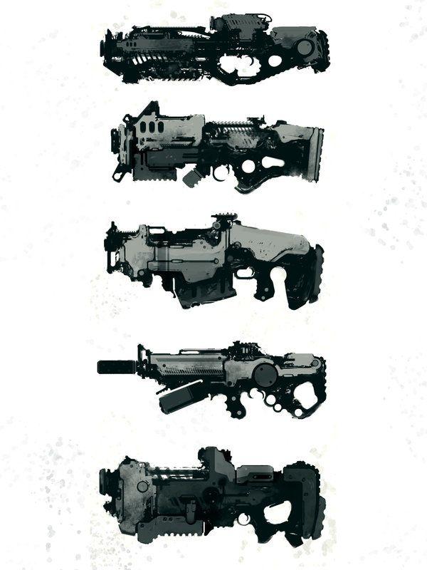speedie guns by *torvenius