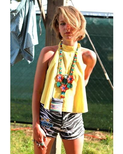 Street Chic: Summer Concert Style Round-Up - Electric Zoo Shorts?!?