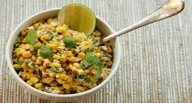 Warm Mexican Street Corn Salad | Salads | Pinterest