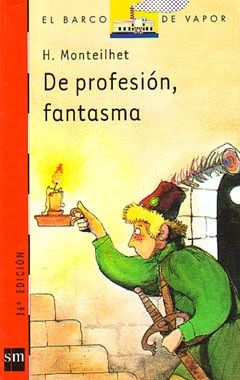 Libros Juveniles: De profesión, fantasma (H.Monteilhet)