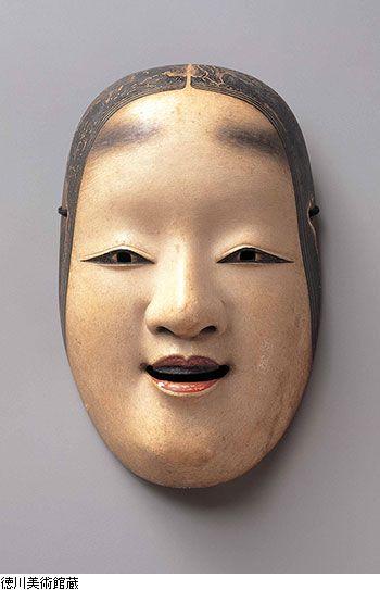 Noh mask - Edo period (17th Century) - Ko Omote