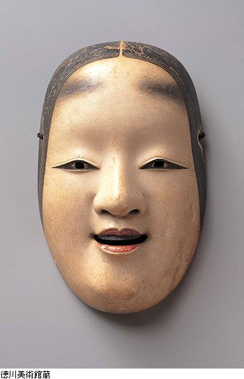 Noh mask, Edo period (17th century), Japan